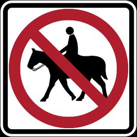 road ada signs