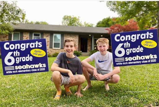 yard signs for graduations