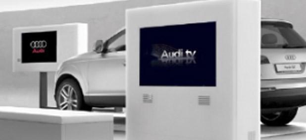 Audi, Digital Signage