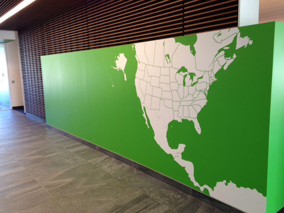 DC Group, Case Study, Wall Graphic