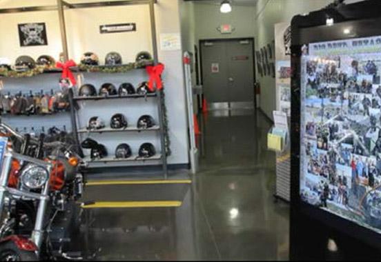 Durango Harley Davidson, Digital Kiosk