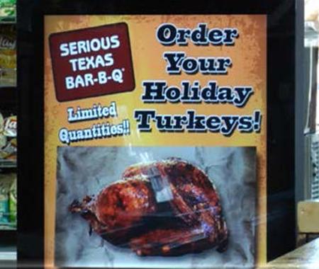 Serious Texas BBQ, kiosk
