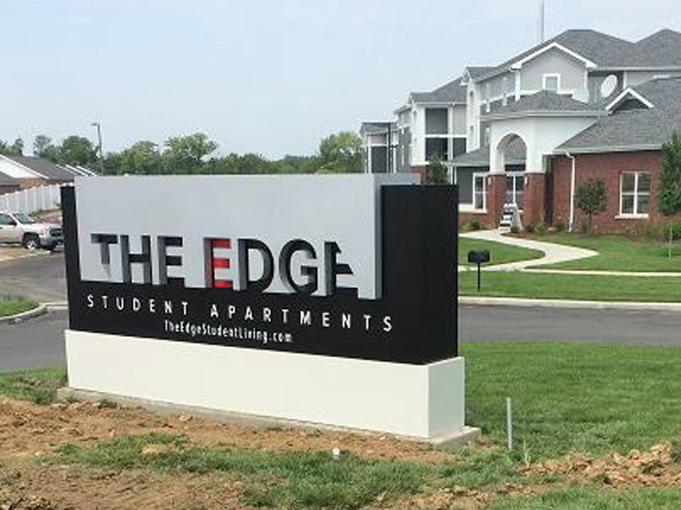 The Edge Monument Sign