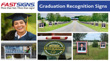 Graduation Banners from FASTSIGNS
