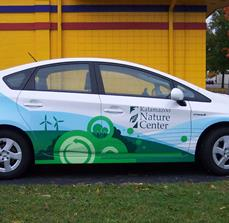 Nature Center Vehicle Graphics