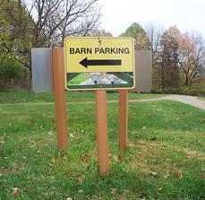 Farm Parking Signs