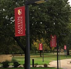 Austin College Pole Banner