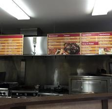 Eddy's Mediterranean Grill Menu Boards