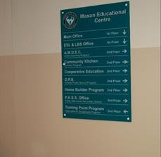 Masons Education Directory Sign
