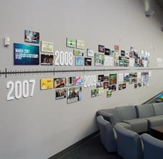 Rivers Crossing Community Church Wall Timeline