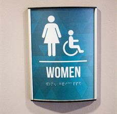 Rivers Crossing Community Church Restroom Signs