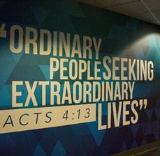Rivers Crossing Community Church Wall Graphics