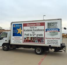 Sherman ISD Vehicle Graphics