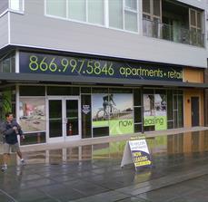 Apartment window graphics