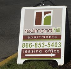 Apartment A-Frame Signs