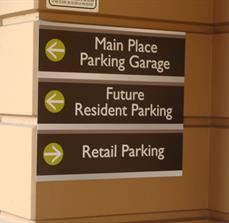 Apartment Directional Signs
