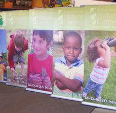 Nature Center Banner Stands