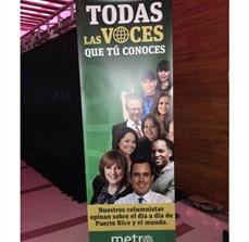 Spanish Banner Stands