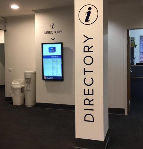 directory digital display
