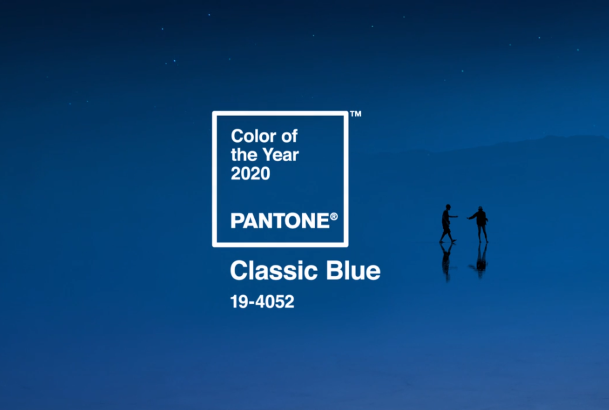 2020 Pantone Color of the Year Classic Blue