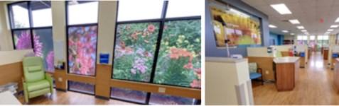 cancer care center interior decor