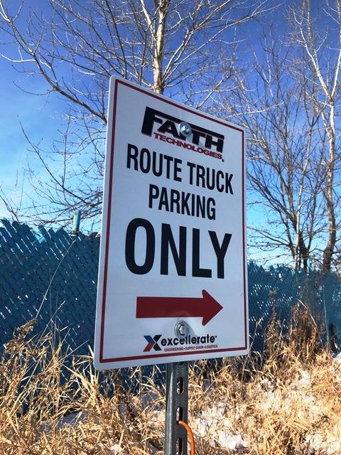 Faith-Technologies-parking-sign