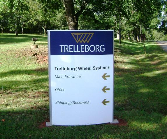Trelleborg-custom-monument-sign