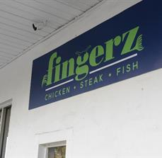Fingerz Wall Sign