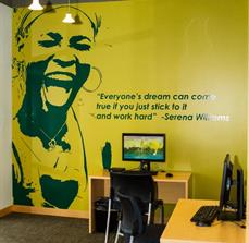 North End Teleservices Wall Graphics and Lettering