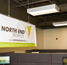 North End Teleservices Banner