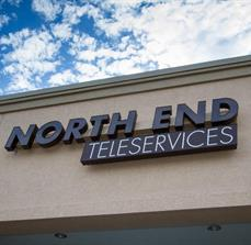 North End Teleservices Dimensional Building Letters