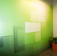 North End Teleservices Wall Graphics