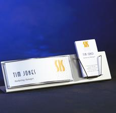 Business Card Holder and Name Plate