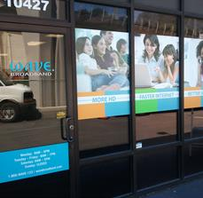 Internet Company Window Decals