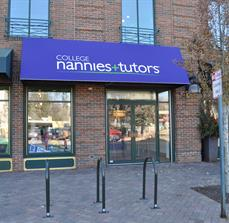 College tutor custom awnings
