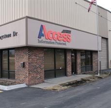 Business Exterior Lettering