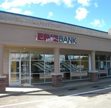 Bank Exterior Lettering