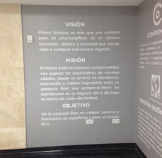 Spanish wall graphics