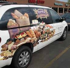 Bakery van graphics