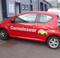 Car leasing graphics