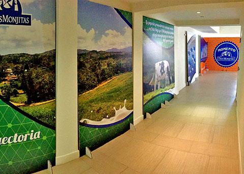 interior displays and exhibits