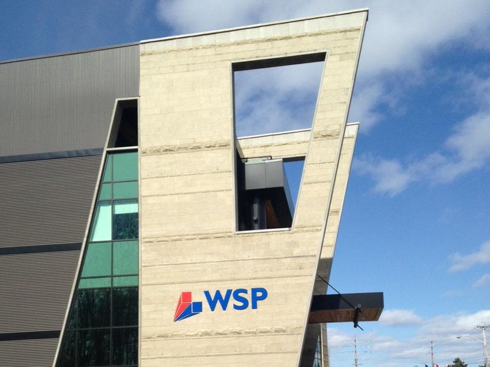 wps exterior signage
