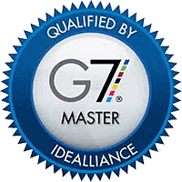 G7 Certified Master on staff