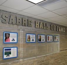 Custom wall of fame signs