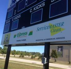 Scoreboard signs