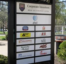 Investor signage