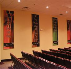 Church wall banners