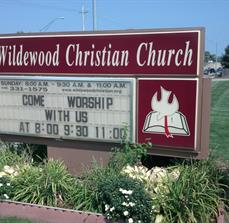 Church Site Signs And Lettering