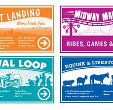 State Fair Wayfinding Banners