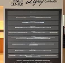 Muhammad Ali Center Legacy Wall